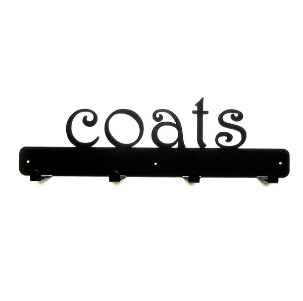 Coats Coat Rack - Knob Creek Metal Arts