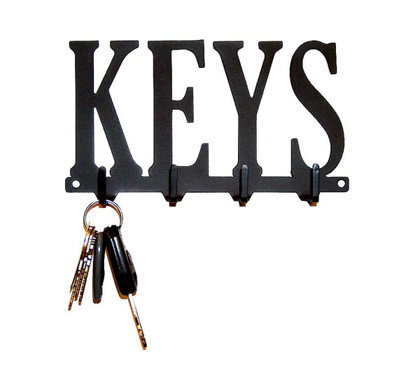 Keys Key Rack - Knob Creek Metal Arts