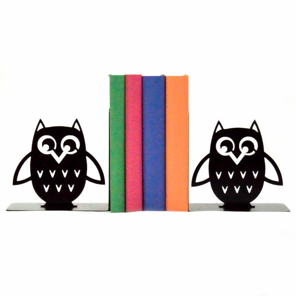 Sugar Owl Metal Art Bookends - Knob Creek Metal Arts