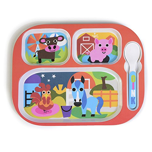French Bull Kids Dishes