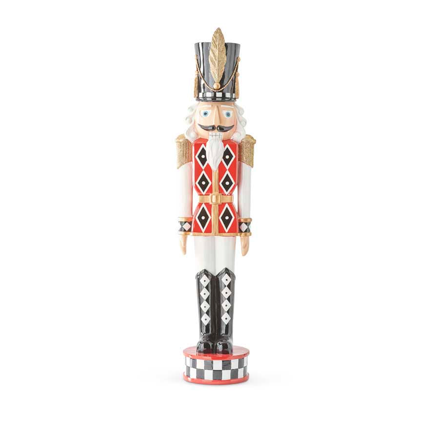 Extra Large Red and White Soldier Nutcracker