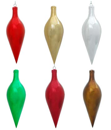 320 MM Ornament Top Classic, Red (12 per case)