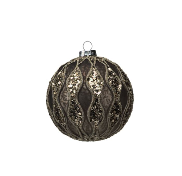 Antique Ball Ornament - Medium