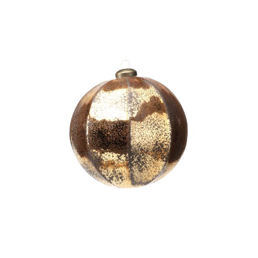 Gold Ball Ornament - Large