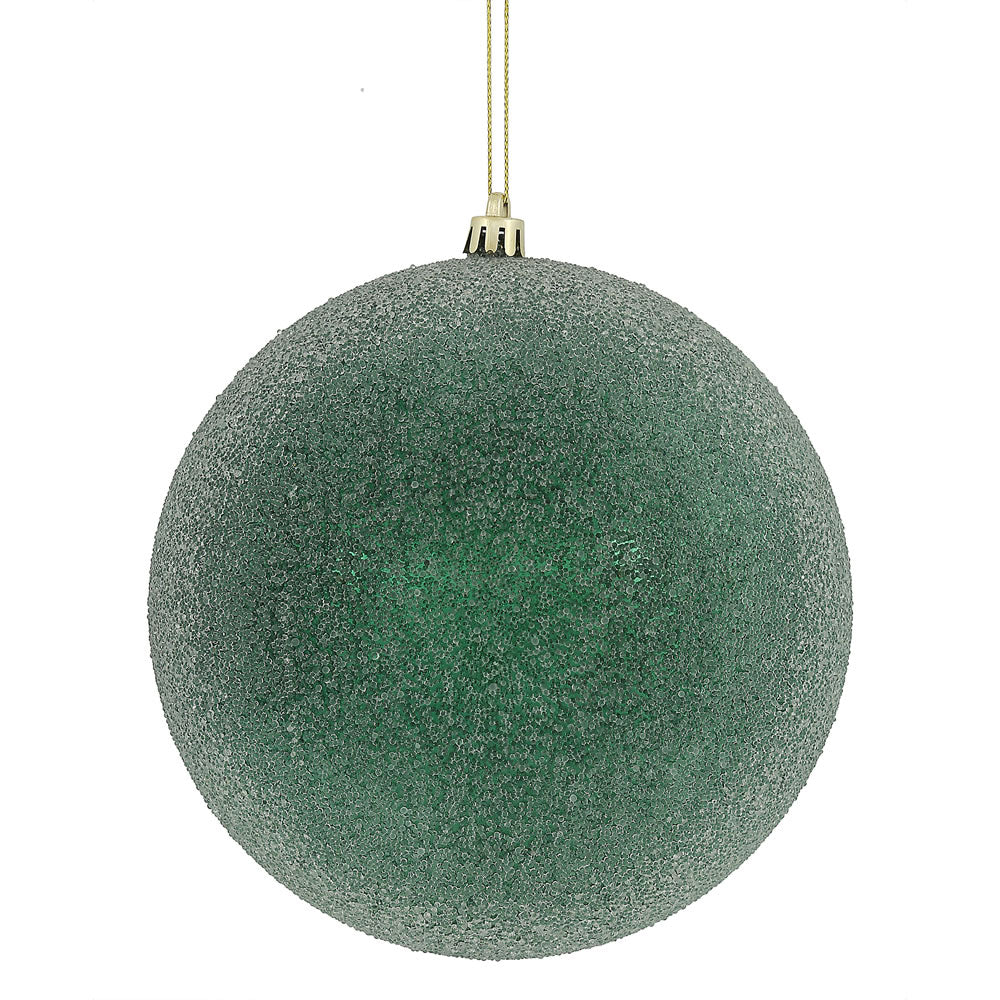 "4"" Midnight Green Iced Ball"
