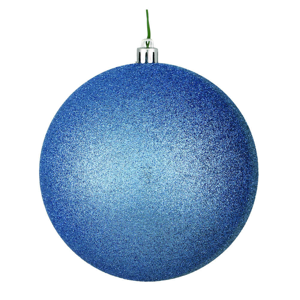"6"" Periwinkle Glitter Ball Drill"