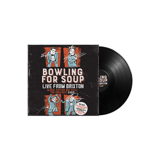DETD Limited Edition Double Vinyl - Autographed
