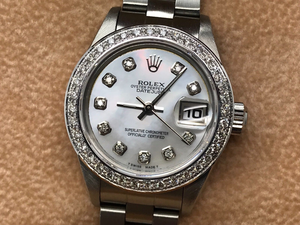 LADIES ROLEX DATEJUST STAINLESS STEEL