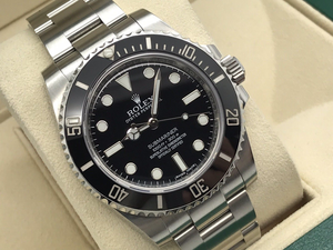 GENTS ROLEX SUBMARINER NON-DATE STAINLESS STEEL