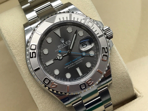 ROLEX YACHT-MASTER 40 STAINLESS STEEL