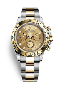 COSMOGRAPH DAYTONA OYSTER STEEL AND YELLOW GOLD