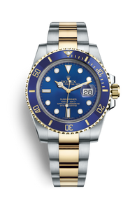 SUBMARINER DATE OYSTERSTEEL AND YELLOW GOLD