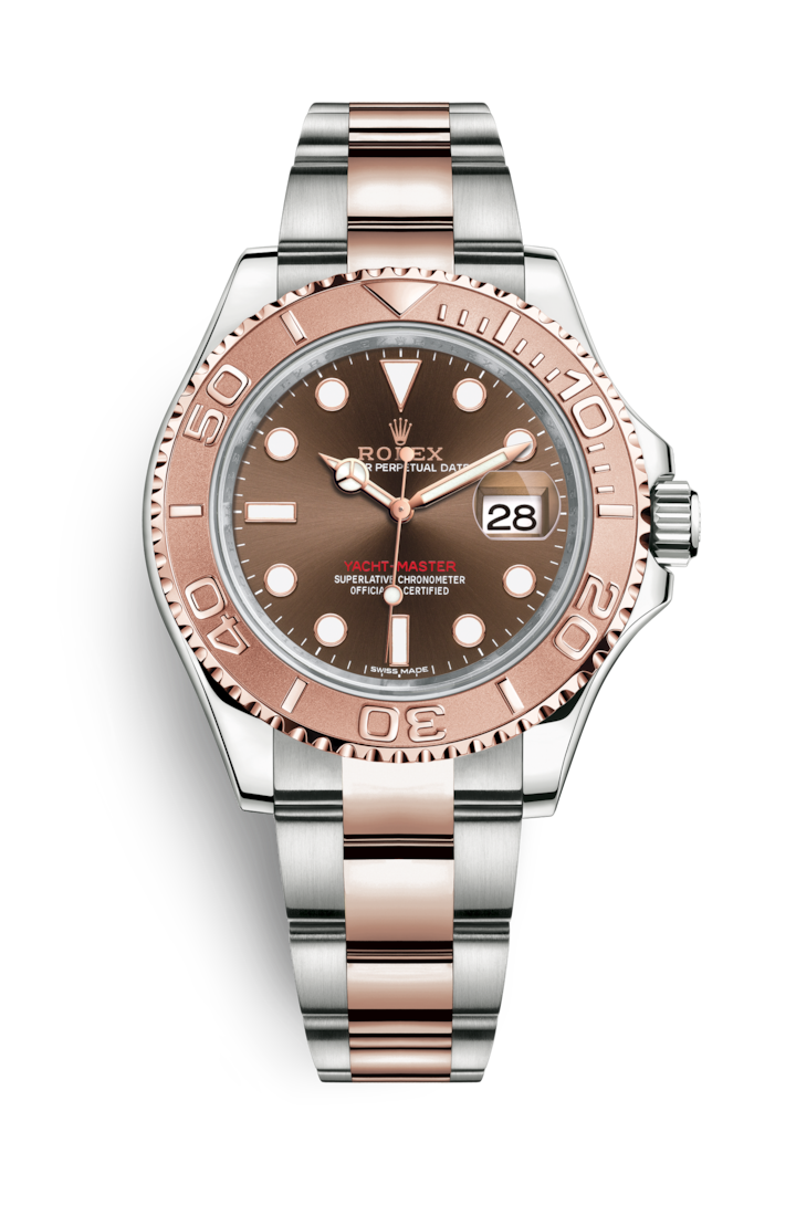 YACHT-MASTER 40 OYSTERSTEEL AND EVEROSE GOLD