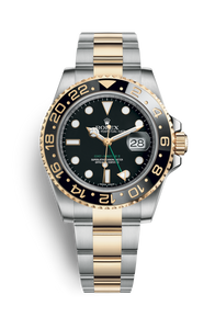 GMT-MASTER II OYSTERSTEEL AND YELLOW GOLD