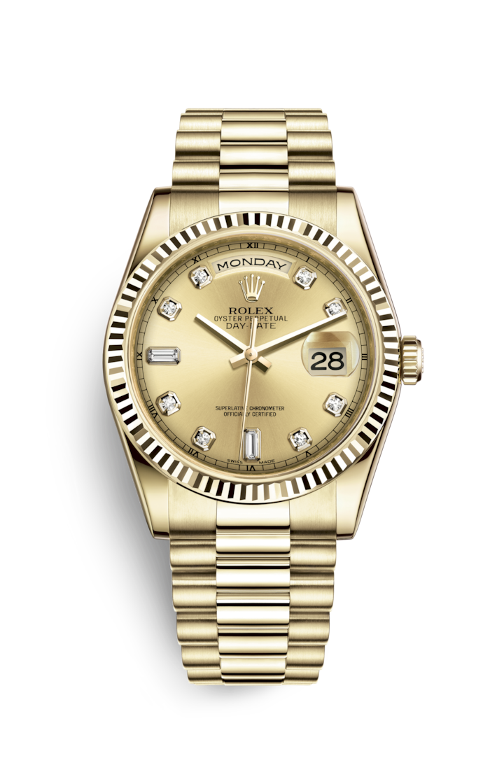 DAY-DATE 36 YELLOW GOLD