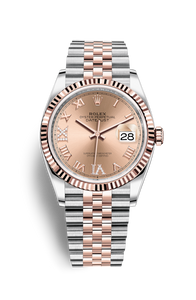 DATEJUST 36 OYSTERSTEEL AND EVEROSE GOLD