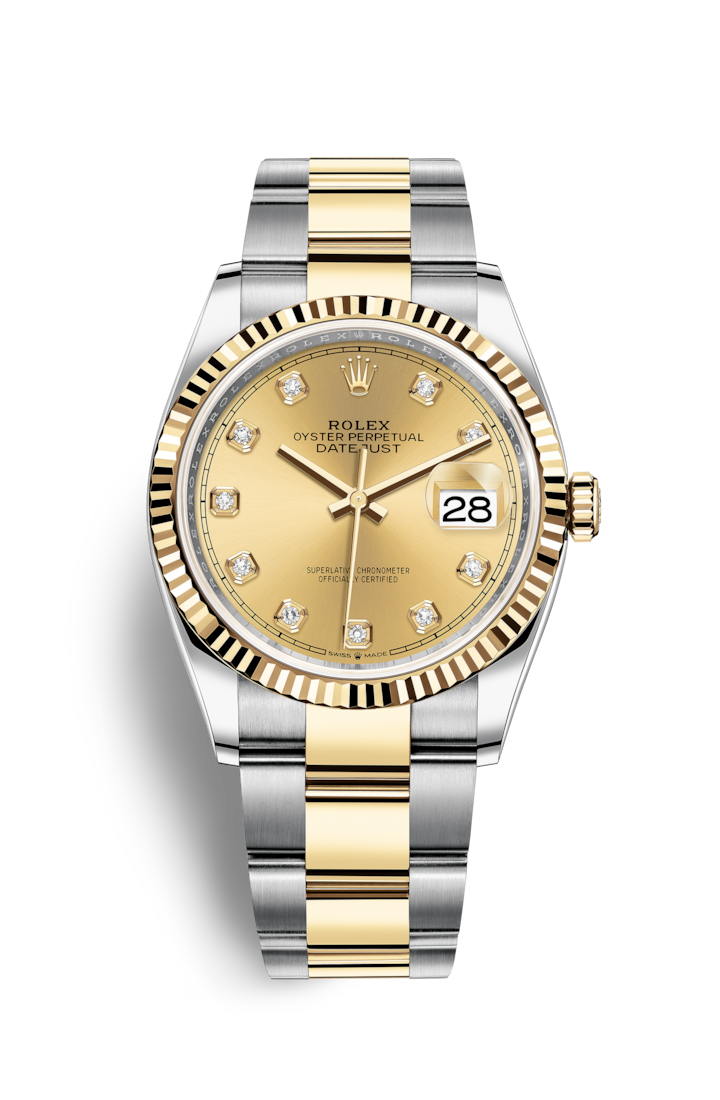 DATEJUST 36 OYSTERSTEEL AND YELLOW GOLD