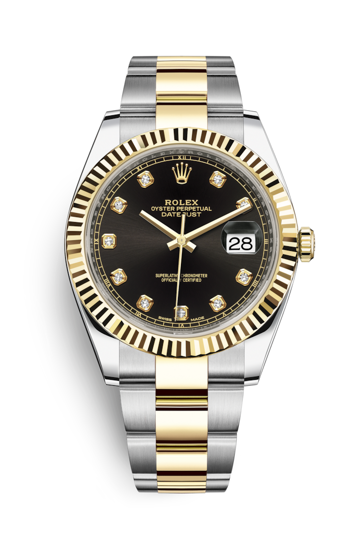 DATEJUST 41 OYSTERSTEEL AND YELLOW GOLD