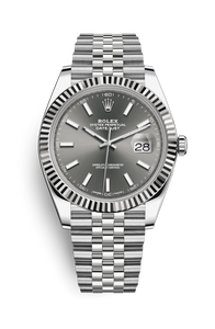DATEJUST 41 OYSTERSTEEL AND WHITE GOLD