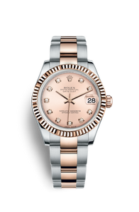 DATEJUST 31 OYSTERSTEEL AND EVEROSE GOLD