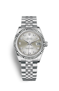 DATEJUST 31 OYSTERSTEEL AND WHITE GOLD