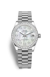 DATEJUST 31 WHITE GOLD AND DIAMONDS