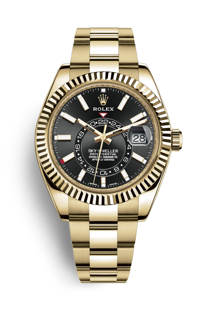 SKY-DWELLER YELLOW GOLD