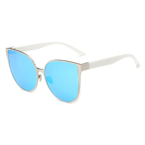 Unisex Square Mirror Sunglasses Metal Frame Vintage Sunglasses Women Men Glasses