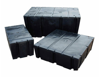 3x10x16 Float Drum - 2224# Buoyancy