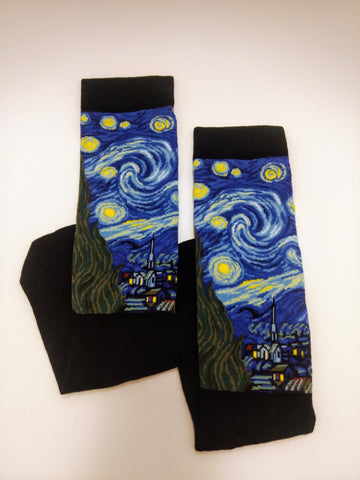 Art Socks Starry Night