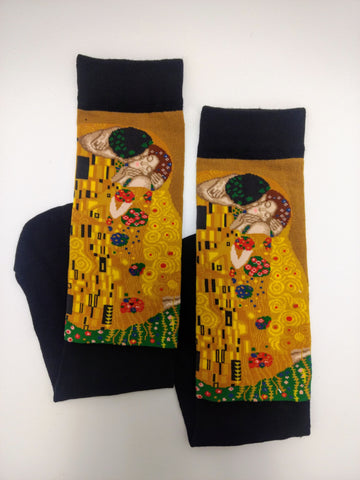 Art Socks The Kiss