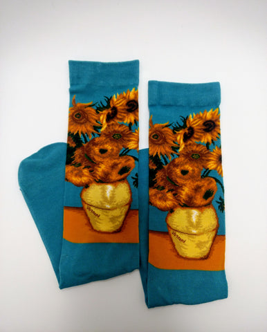Art Socks Sunflowers