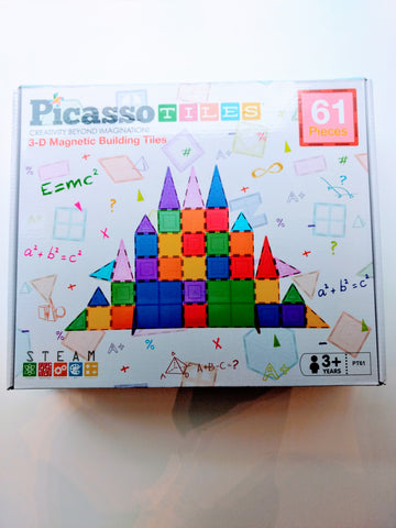 Picasso Tiles: 61 Pieces