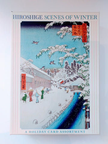 Hiroshige: Scenes Of Winter