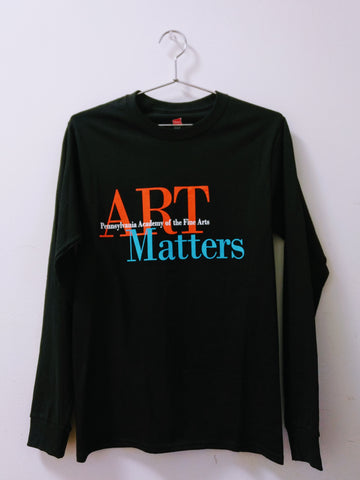 """Art Matters"" Long Sleeve Shirt"