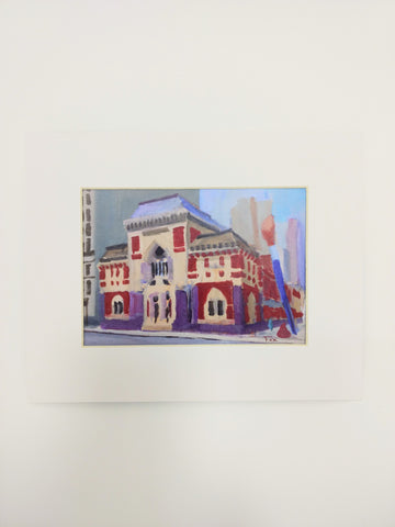 Pafa Historic Landmark Building Print