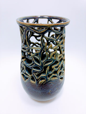 Kiya Purple Ceramic Vase