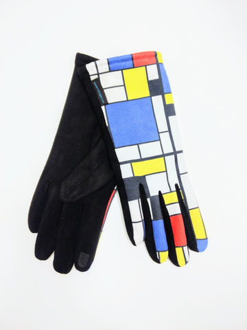 Gloves Mondrian & Blk