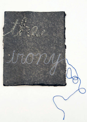 "Buzz Spector, ""The Irony"""