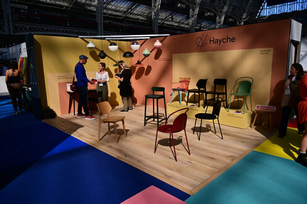 Hayche Furniture - 100% Design 2019 - Dune, Backer and WW Chairs
