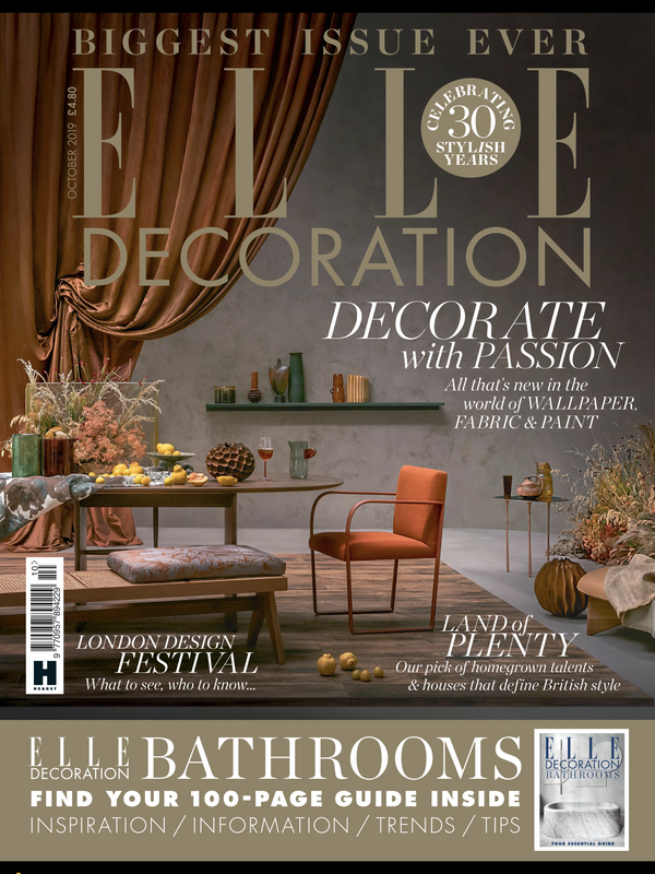 Elle Decoration - October 2019 - Backer Chair - Hayche