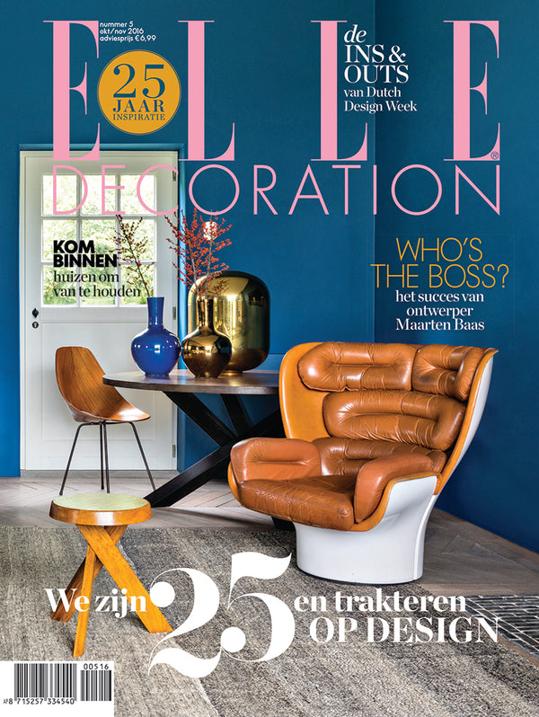Elle Decoration Netherlands - October/November 2016