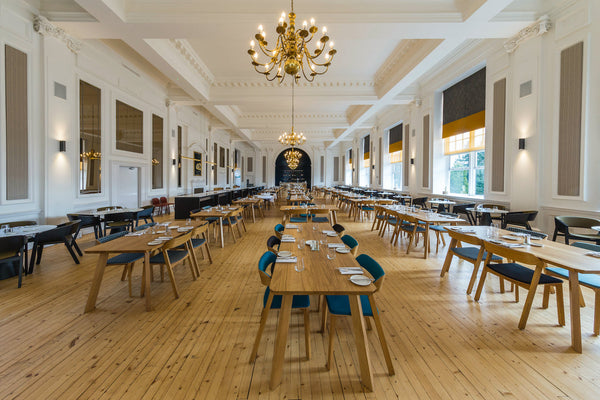 Peebles Hydro Hotel & Spa - Scotland - Hayche - Chunky Oak Tables