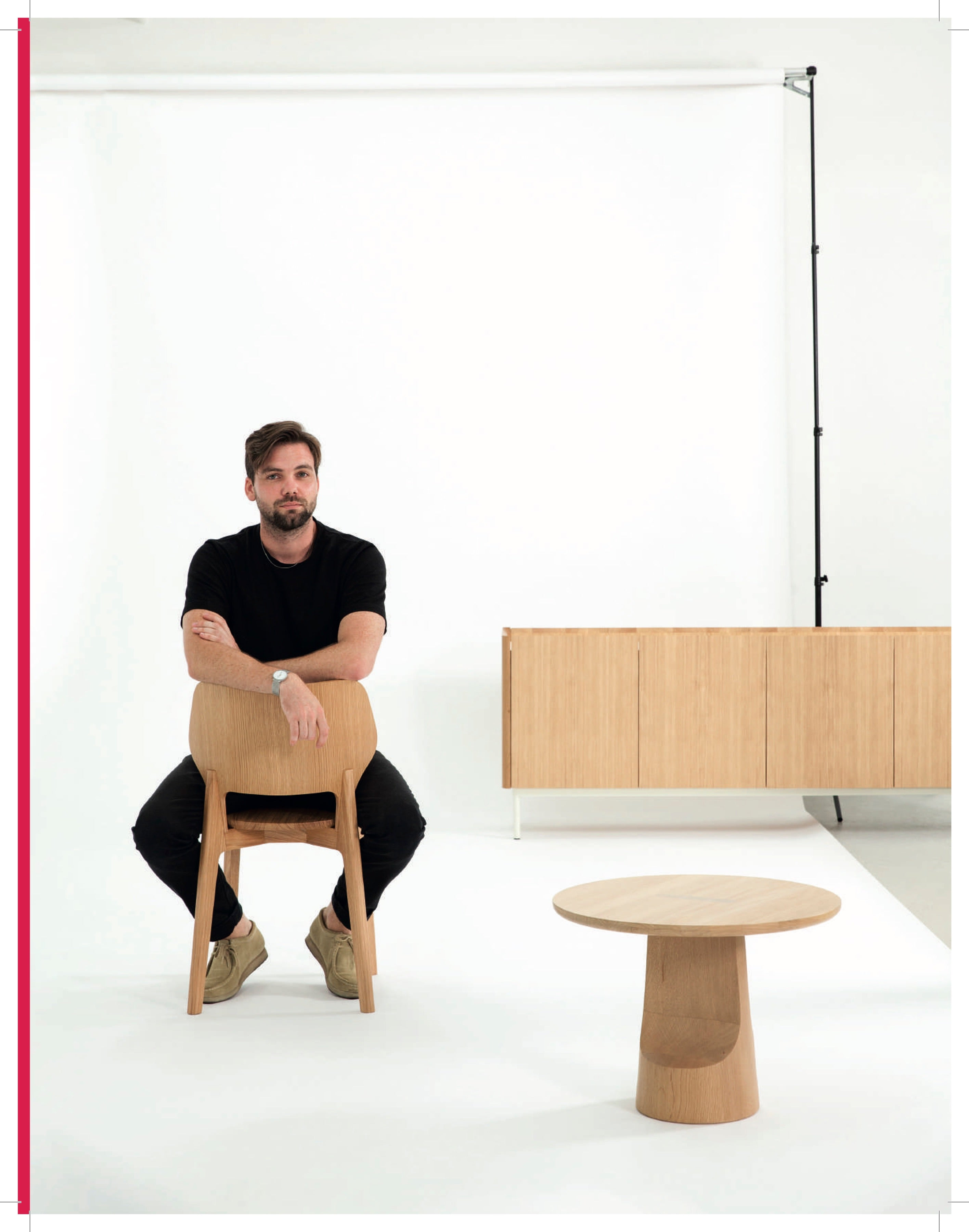 Daniel Schofield - Backer Chair - Hayche Furniture London