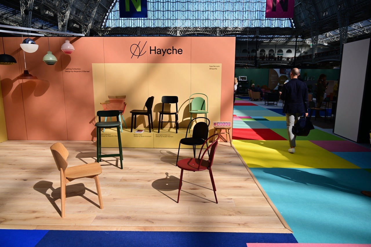 Hayche Furniture & Lighting - 100% Design 2019 - Modern Contract Furniture