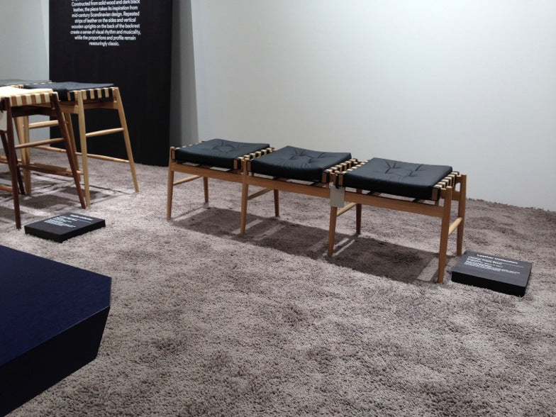 Cologne 2014 - Hayche - H Furniture - Loom Chair, WW Chair, Norse Chair, Brick Table