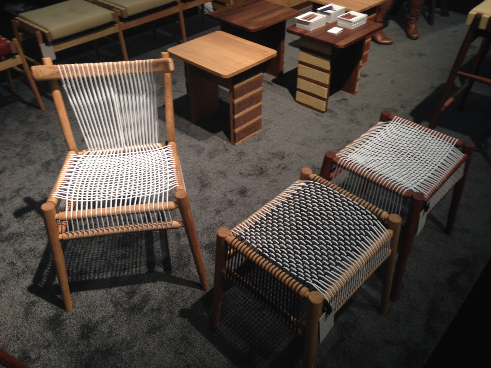 ICFF 2014 - Hayche Furniture, H Furniture, Loom Chair, WW Chair, Collections 2014