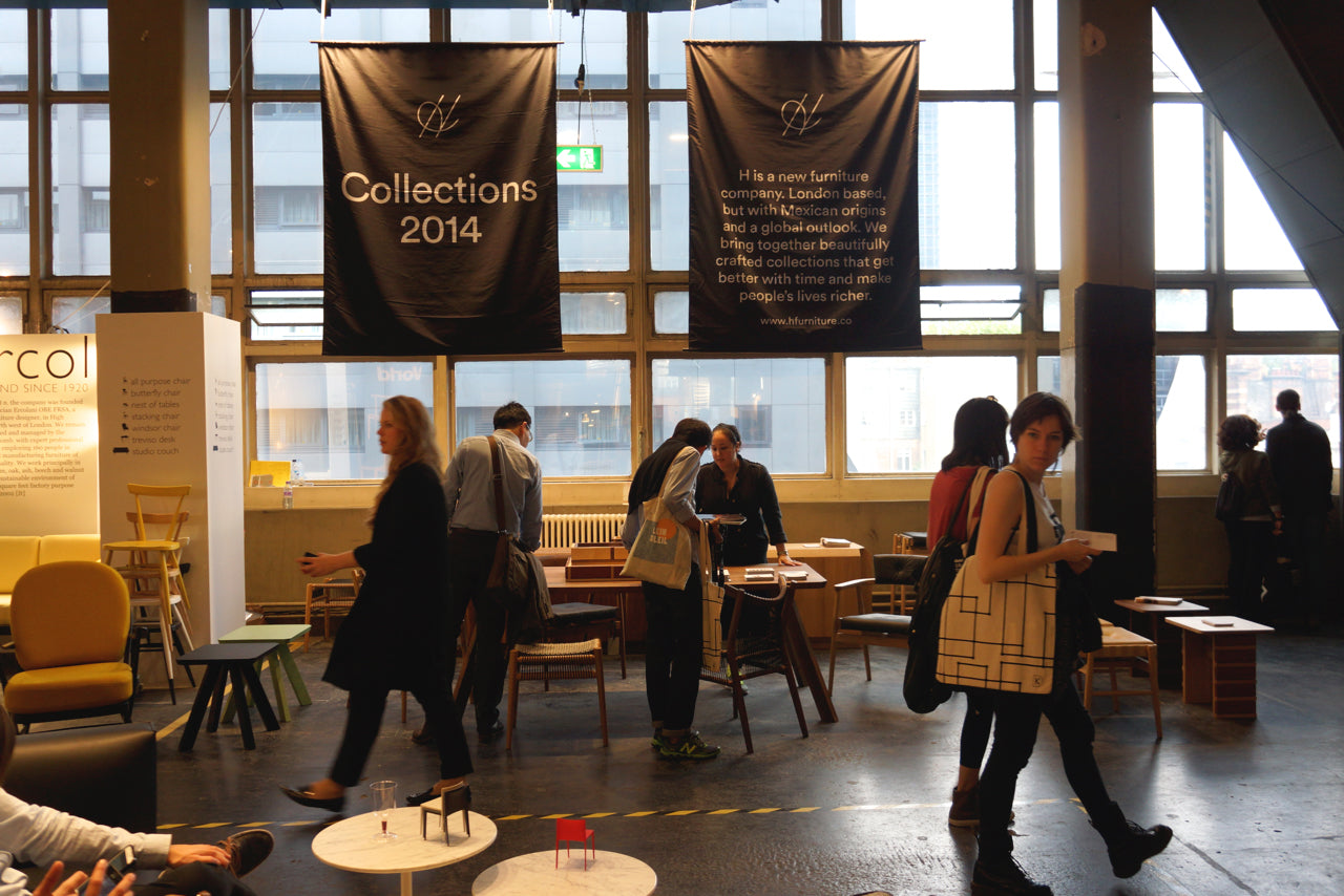 Design Junction 2014 - Hayche, H Furniture, WW Chair, Loom Chair - Contract Furniture