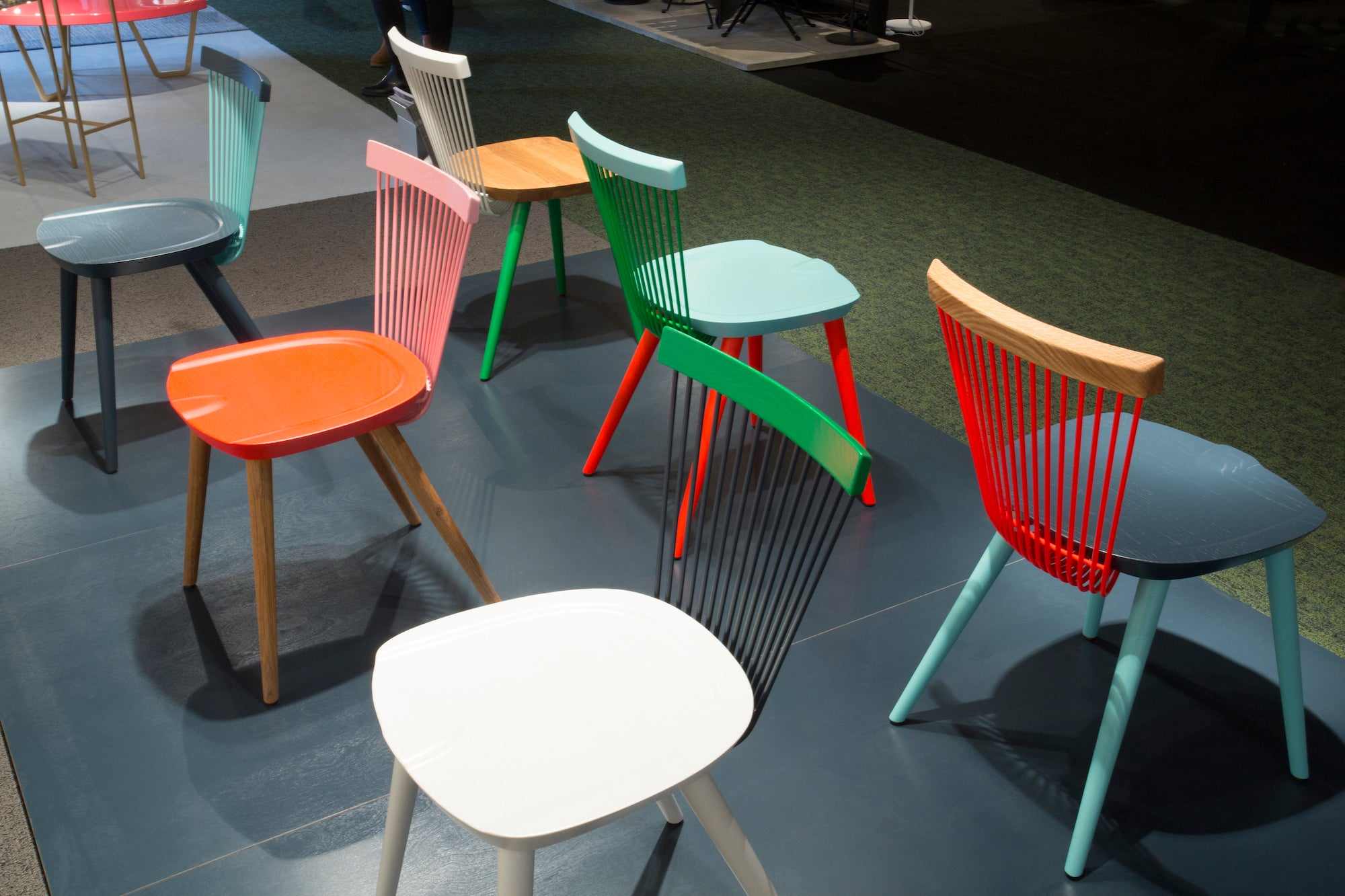 Hayche, H Furniture - Design Junction 2016 - Studio Makgill - WW Colour Series Chair