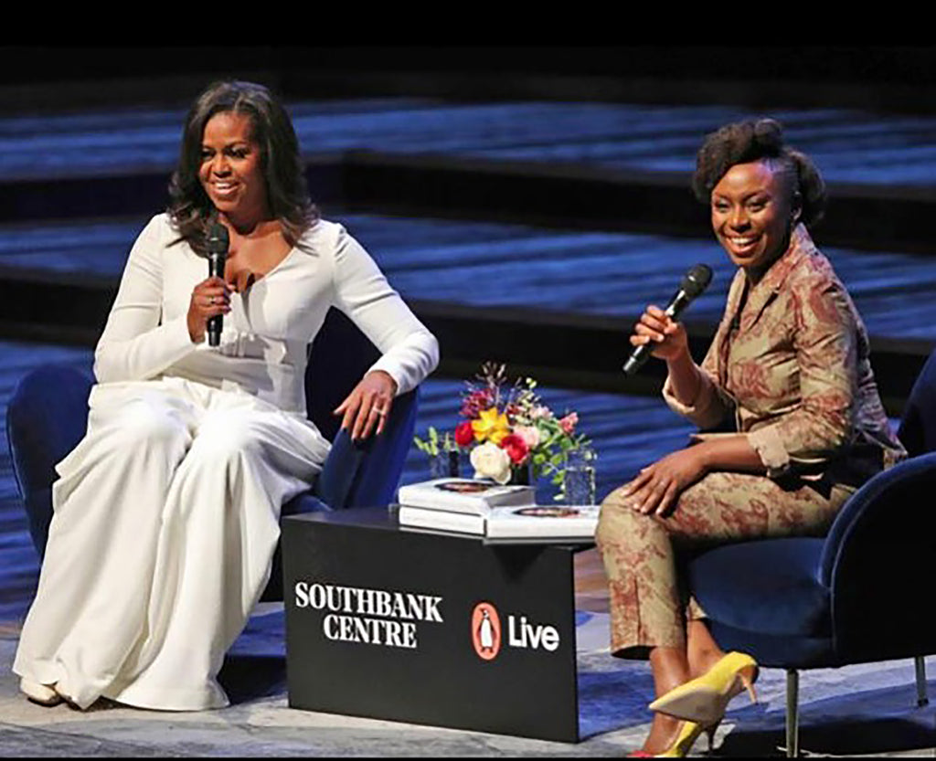 Michelle Obama, London, Pie Chart Table